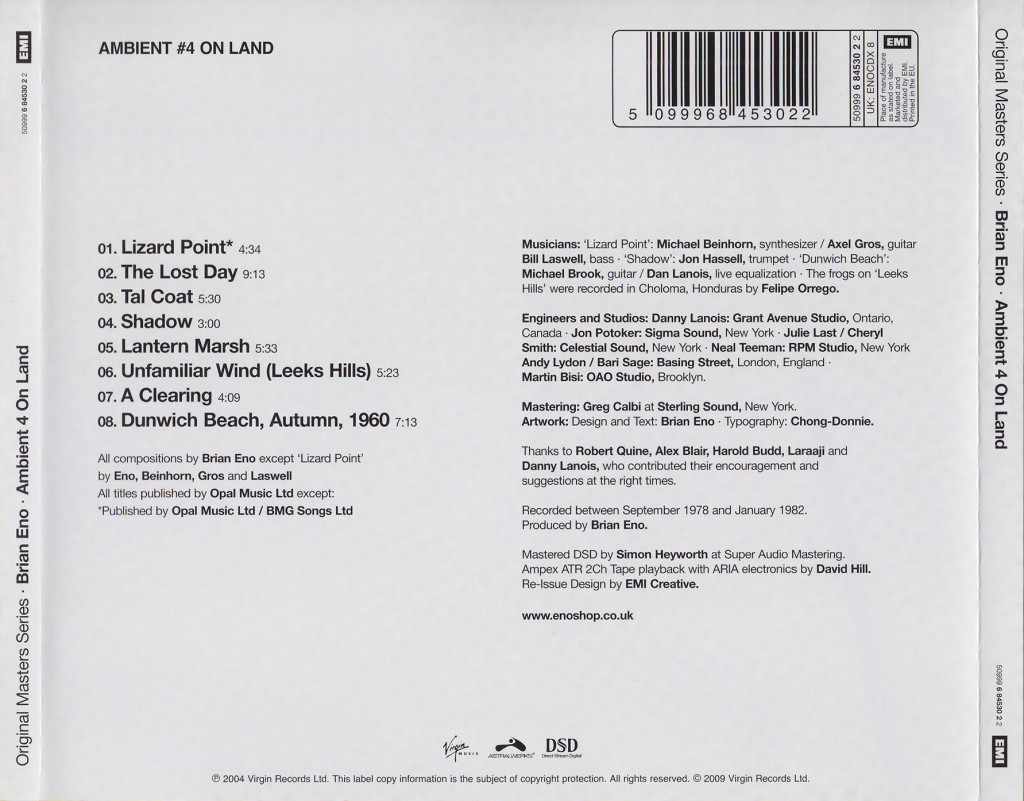 Brian_Eno-Ambient_4_On_Land-3-Back-