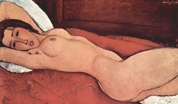 裸婦・モディリアーニ